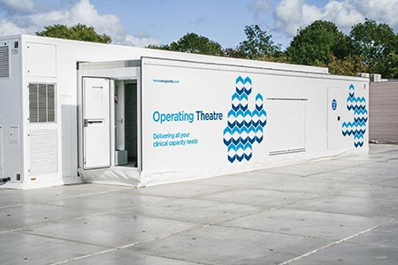 Extension to mobile theatre unit deployed in Dudley