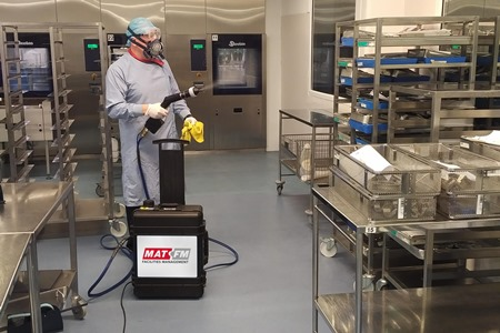 Hydrogen Peroxide Decontamination from MAT FM – Effective Disinfection of Sensitive Areas