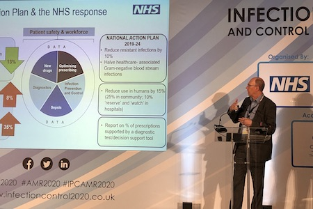 National Medical Director calls for increased focus on infection prevention in fight against AMR