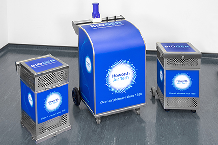 BIOGEN DUO – The mobile decontamination system that's safe, effective and convenient
