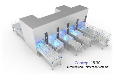 The NEW intelligent and space-saving washer disinfector solution for the CSSD