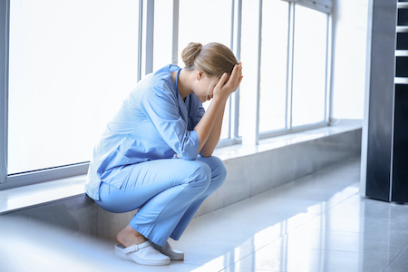 Support for nurses facing hardship