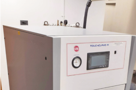 Autoclave to support COVID testing effort