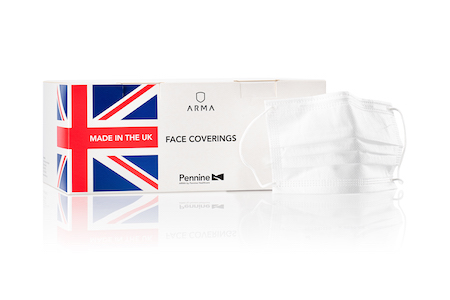Pennine Healthcare launch new UK Face Coverings in fight against COVID